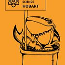 March for Science Hobart – Shark, black by sciencemarchau