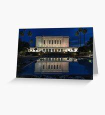 Mesa Arizona LDS Temple Greeting Card