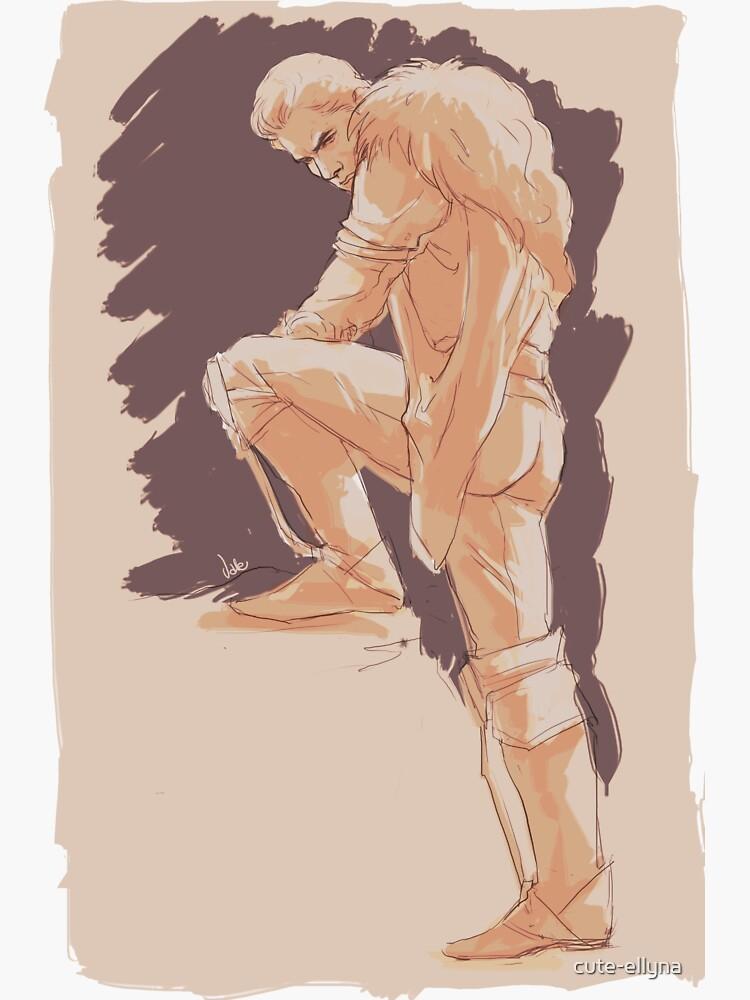 Cullen - sketch #2 by cute-ellyna