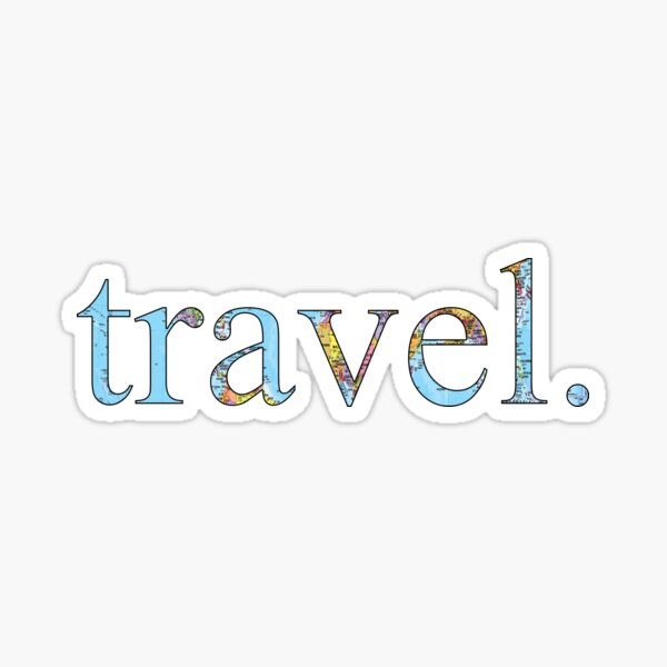 travel! Sticker