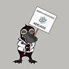 March for Science Adelaide – Platypus, full color by sciencemarchau