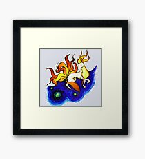 Ninetales. Framed Print