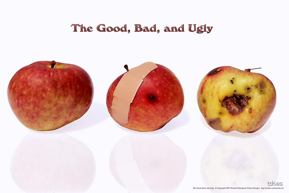 The Good, Bad, and Ugly by tdoes