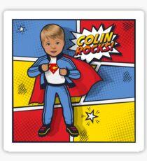 Colin Rocks Sticker