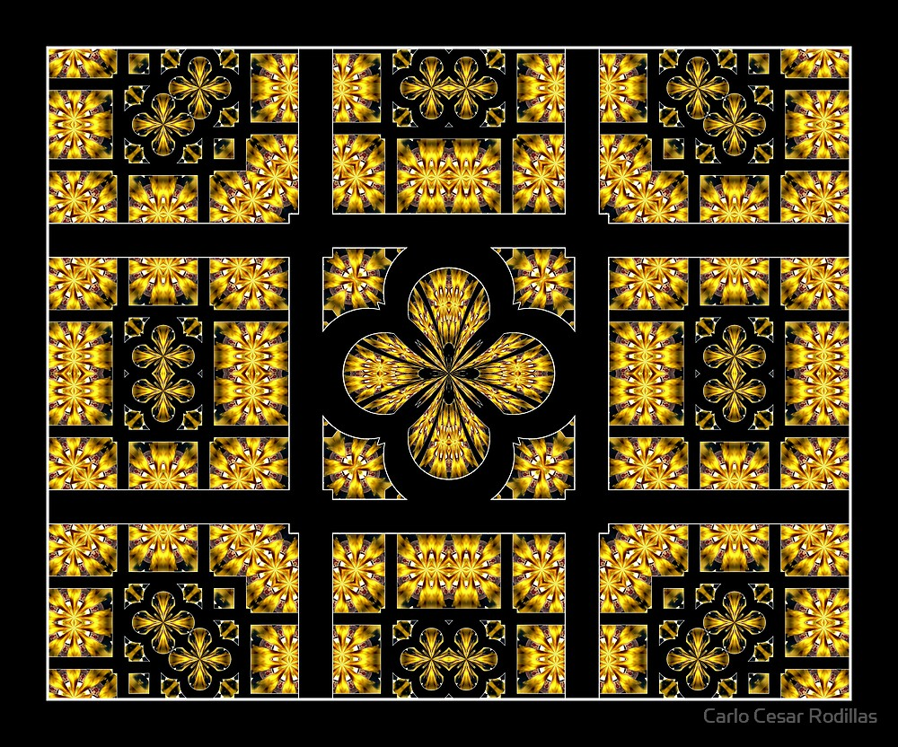 The Ceiling Of Heaven Cathedral (My Proposal To God When My Time Has Come!) by Carlo Cesar Rodillas