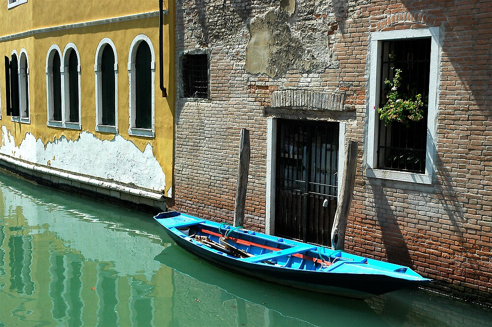 Canal in Venice by ihancock