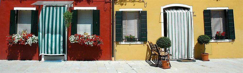 Doorways to Burano by ihancock
