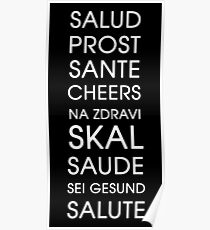 Cheers - Multiple Languages Poster