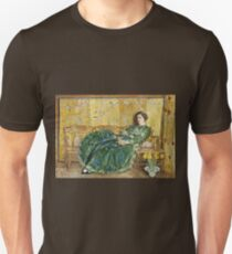 Childe Hassam - April (The Green Gown) (1920) T-Shirt