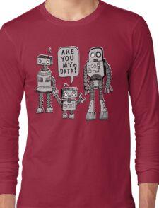 My Data? Robot Kid Long Sleeve T-Shirt