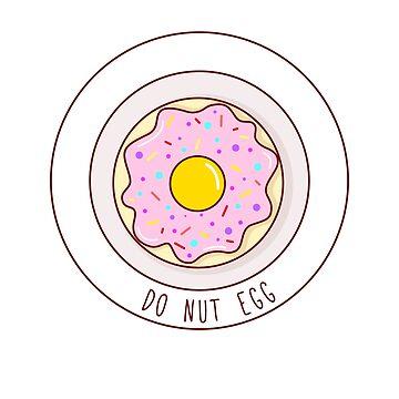 Do Nut Egg by boundlessamber