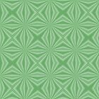 Pale Green Squiggly Squares by AuntieShoe