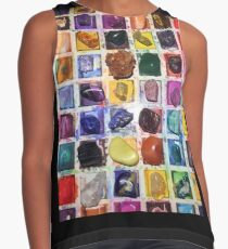 Placement of Crystals Contrast Tank