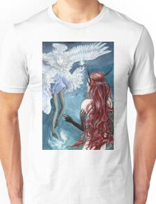Feather meets Scale Unisex T-Shirt