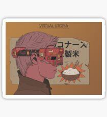Virtual Utopia Sticker