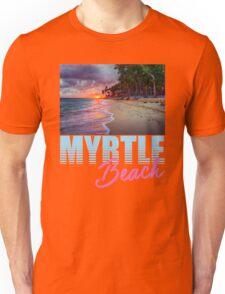 By The Shore Myrtle Beach South Carolina Unisex T-Shirt