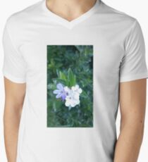 flower blossoms in nature Men's V-Neck T-Shirt