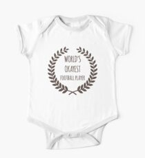 World's Okayest Football Player Kids Clothes