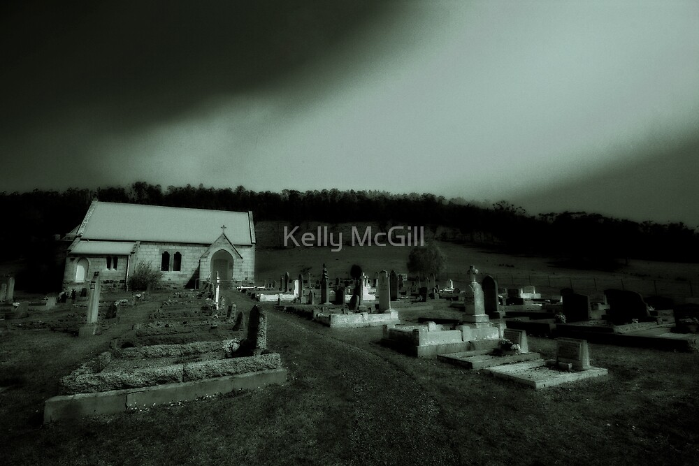 Ellendale Cemetery by Kelly McGill
