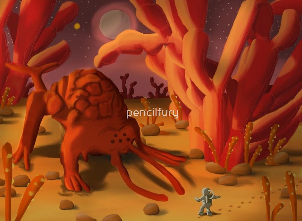 Alien Life by pencilfury
