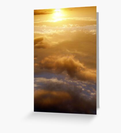 to transcend glory Greeting Card