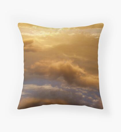 to transcend glory Throw Pillow