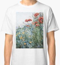 Childe Hassam - Poppies, Appledore Classic T-Shirt