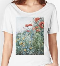 Childe Hassam - Poppies, Appledore Women's Relaxed Fit T-Shirt