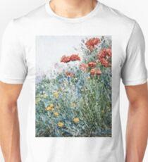 Childe Hassam - Poppies, Appledore Unisex T-Shirt