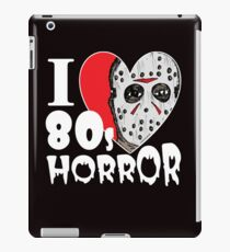 I Love 80s Horror Movies iPad Case/Skin