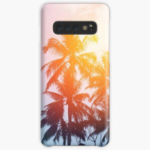 Beach sunset at the coast line Samsung Galaxy Snap Case