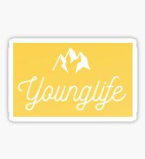 Younglife Sticker - Light Mango  Sticker
