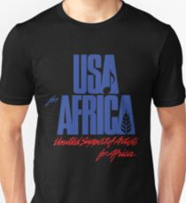 we are the world anniversary USA for africa apparel Unisex T-Shirt