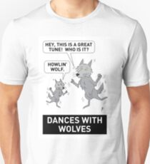 DANCES WITH WOLVES Unisex T-Shirt