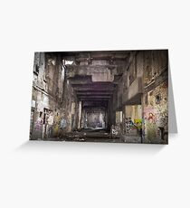 GRAFFITI STREET SPRAY HIP HOP Greeting Card