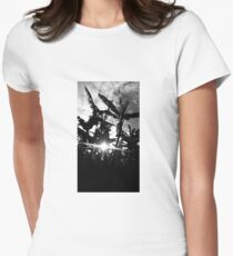 plantations in the limelight Women's Fitted T-Shirt