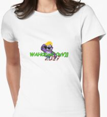 """WAHCKon['V""""} Women's Fitted T-Shirt"""