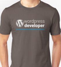 Wordpress Developer Unisex T-Shirt