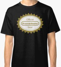 The Procrastination Classic T-Shirt