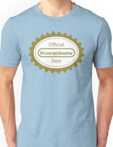 The Procrastination Unisex T-Shirt