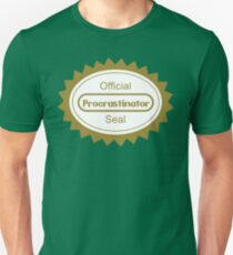 The Procrastination Unisex T-Shirt