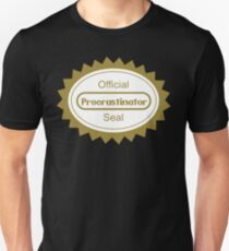 The Procrastination T-Shirt