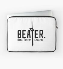 Sword Art Online - Be a Beater! Shirt Laptop Sleeve