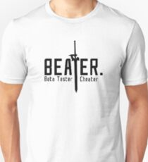 Sword Art Online - Be a Beater! Shirt Unisex T-Shirt