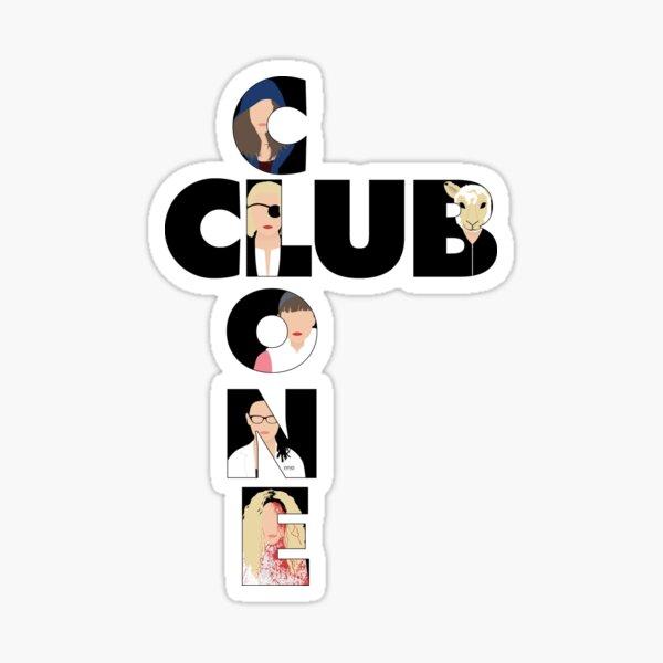 Clone Club V1 B Sticker