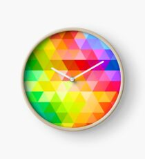 Circle Color Abstract Palette Spectrum Clock