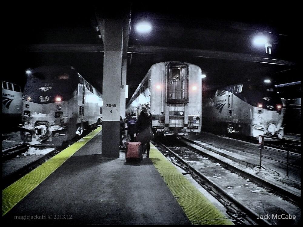 Train Platform - Union Station - Chicago  by Jack McCabe