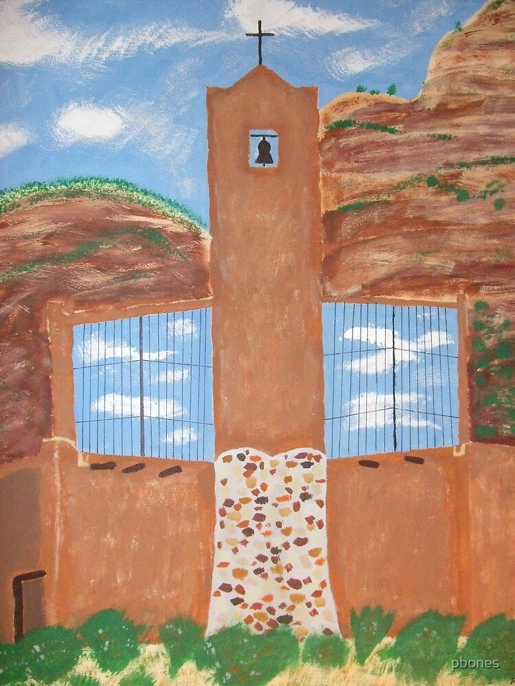 Christ in the Desert by pbones