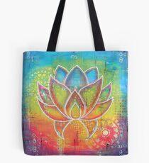 Lotusflower Tote Bag