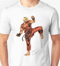 Street Fighter Ken T-Shirt
